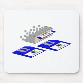 Floppy Disks Mouse Pad