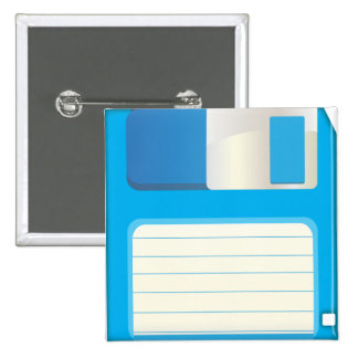 Floppy Disks Pinback Button