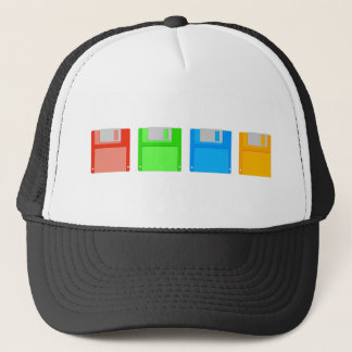 Floppy Disks Trucker Hat