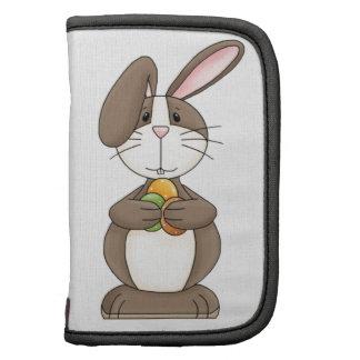 Floppy Ear Bunny Holding Three Eggs Planner