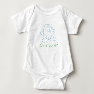 Floppy Ear Rabbit Baby T-Shirt