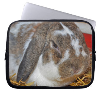 Floppy-eared Bunny Laptop Sleeve