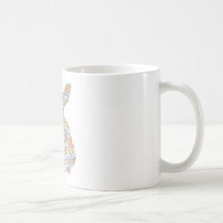 Floppy-Eared Bunny Coffee Mugs