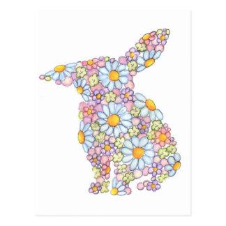 Floppy-Eared Bunny Postcard