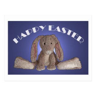 Floppy Eared Easter Bunny Postcard