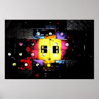 Floppy Mosaic Print
