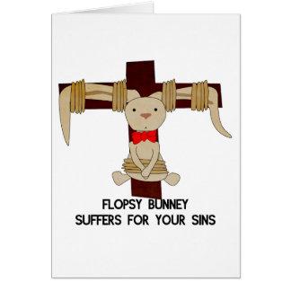 Flopsy Bunney - Easter Card