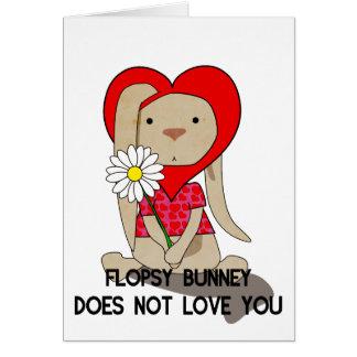 Flopsy Bunney - Valentines Card