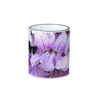 Flor #13 taza de dos colores