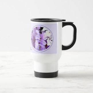 Flor #13 taza de viaje