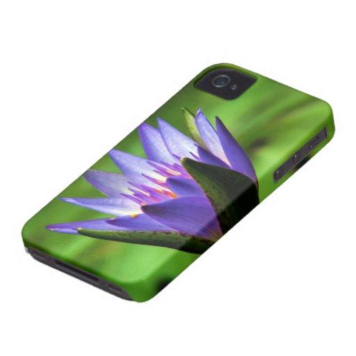 Flor 19 Ninfeia Azul Capas iPhone 4 Case-Mate