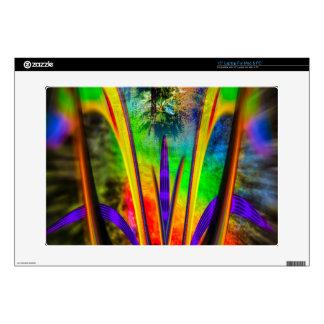 Flor 2 del arco iris portátil skin