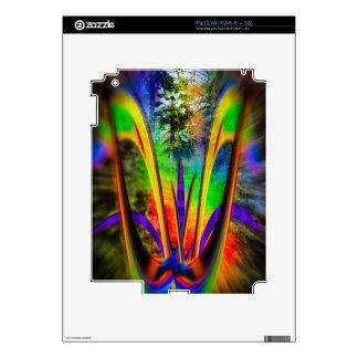 Flor 2 del arco iris skins para iPad 2