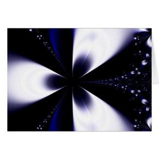 Flor 2 del fractal tarjeta de felicitación