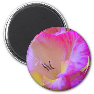 flor 2 imán redondo 5 cm
