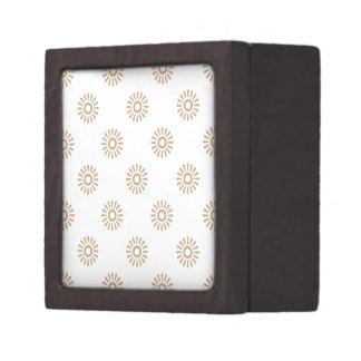 Flor 6 de la arena caja de joyas de calidad
