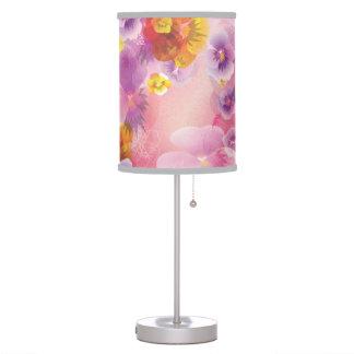 Flor 7 de la primavera del vintage lámpara de mesa