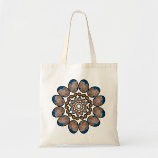 Flor a los bolsos de la mandala del infinito bolsa tela barata