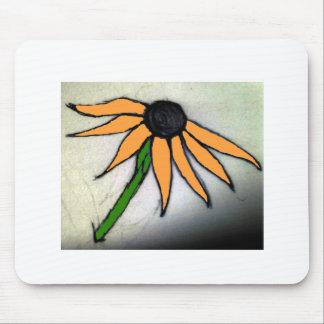 Flor a mano mousepad
