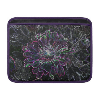 Flor abstracta fundas para macbook air