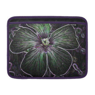 Flor abstracta funda  MacBook