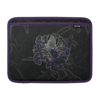 Flor abstracta funda para macbook air
