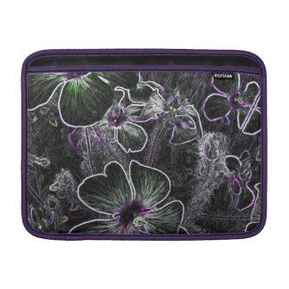 Flor abstracta fundas MacBook