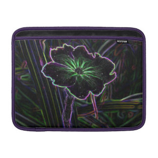 Flor abstracta funda macbook air