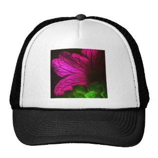 Flor abstracta gorras de camionero