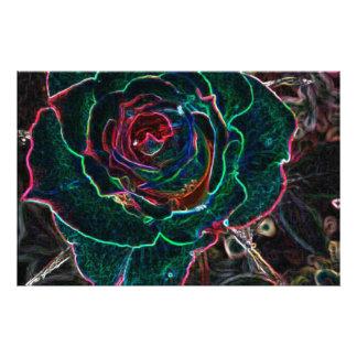 Flor abstracta fotografías