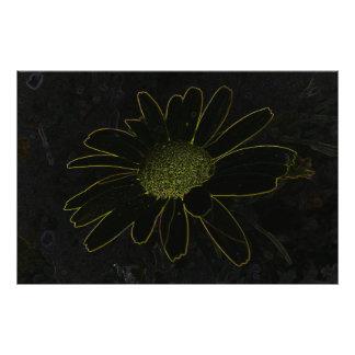 Flor abstracta fotografía
