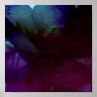 flor abstracta póster