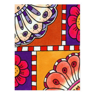 Flor Adore Postcard