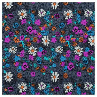 Flor adornada decorativa elegante ditsy del modelo telas