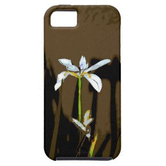 Flor africana del lirio de la quincena del iris iPhone 5 carcasa