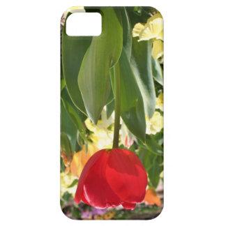 Flor al revés iPhone 5 fundas