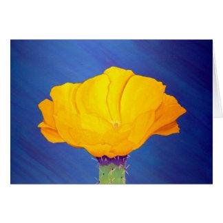 Flor al sudoeste Notecard del higo chumbo del desi Tarjetas