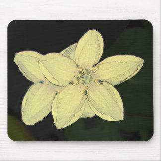 flor alfombrillas de ratones