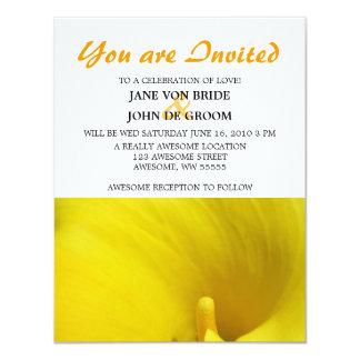 Flor amarilla de la cala comunicados personales