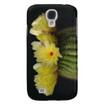 Flor amarilla del cactus