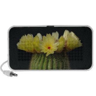 Flor amarilla del cactus iPod altavoz