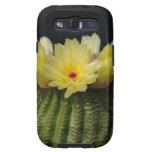 Flor amarilla del cactus samsung galaxy s3 protector