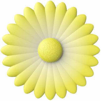 flor amarilla escultura fotografica