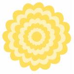 Flor amarilla esculturas fotograficas