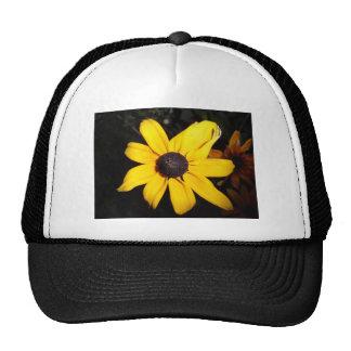 Flor amarilla gorros