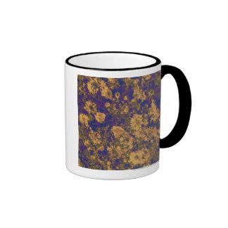 Flor amarilla taza de dos colores
