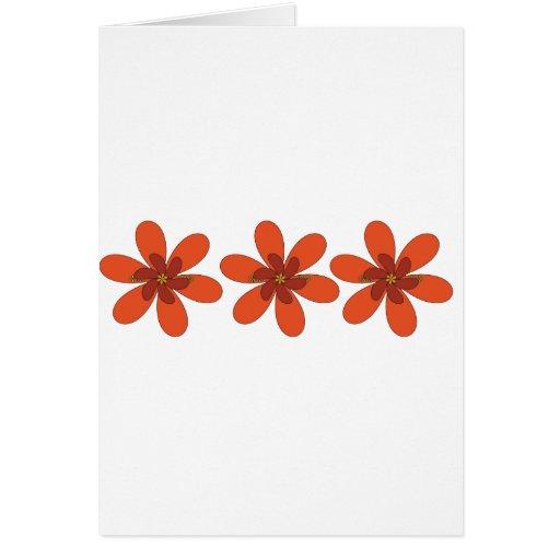 flor anaranjada bonita felicitaciones