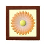 flor anaranjada caja de joyas