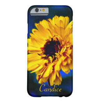 Flor anaranjada Candice de la maravilla Funda De iPhone 6 Slim