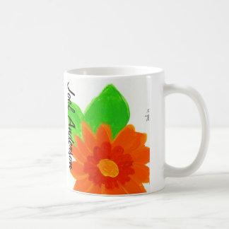 Flor anaranjada de Joel Anderson Taza De Café